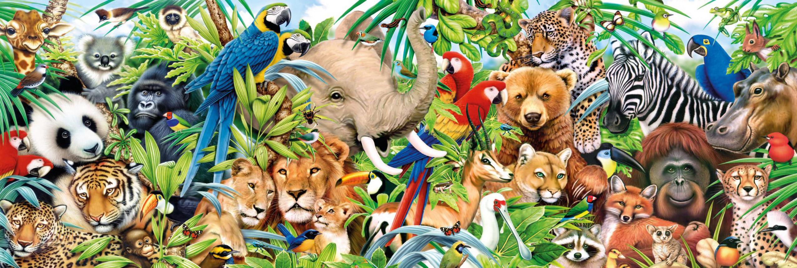 Wildlife Animals Jigsaw Puzzle