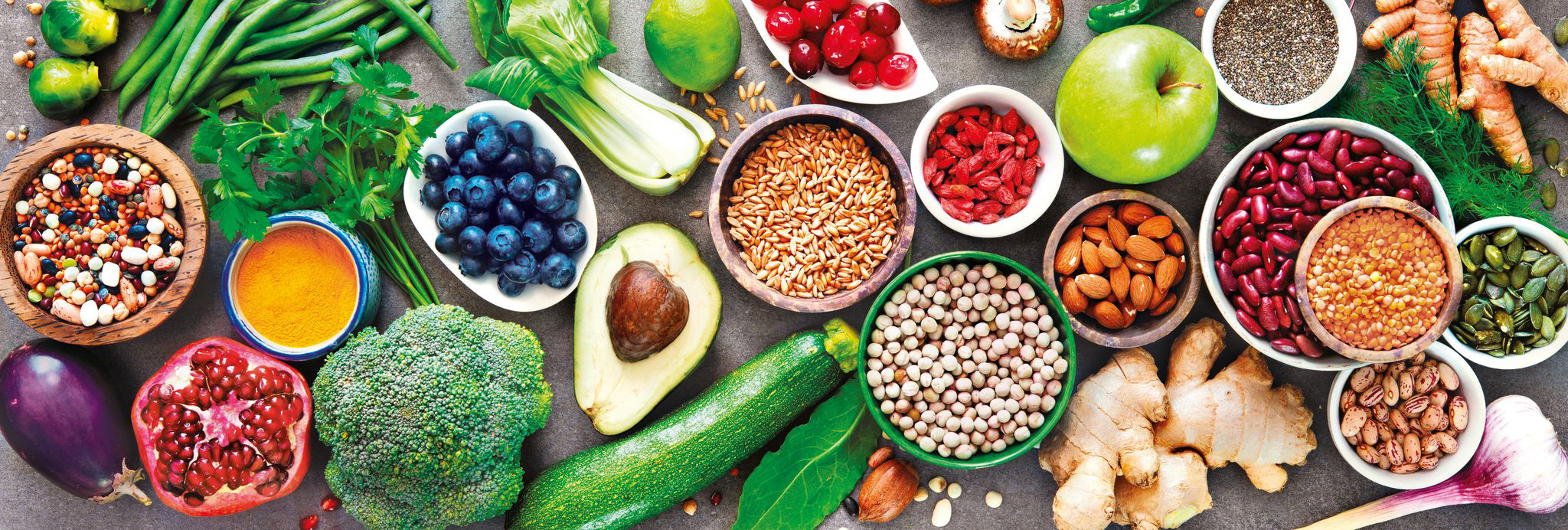Healthy Veggie Food and Drink Jigsaw Puzzle