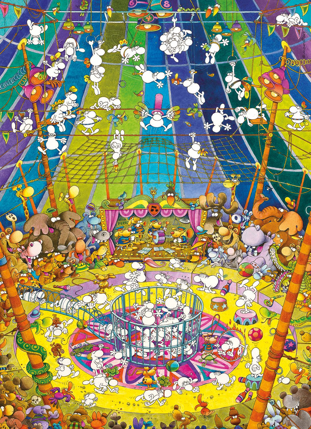 The Show Graphics / Illustration Jigsaw Puzzle
