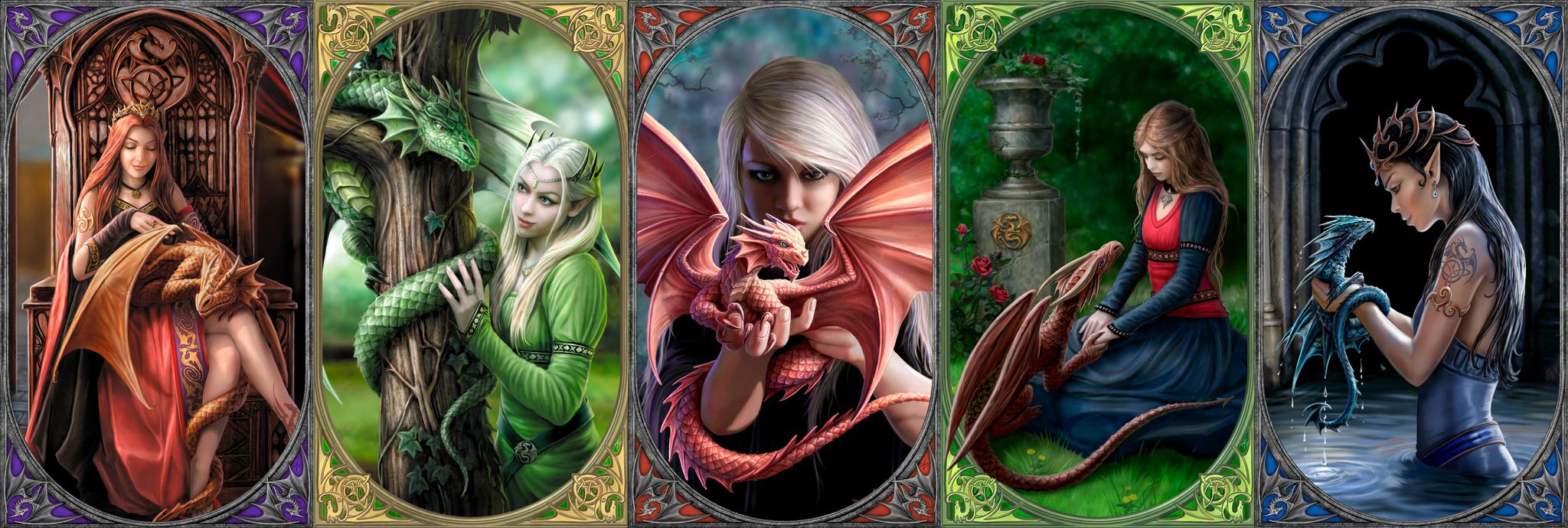 Dragon Friendship Fantasy Jigsaw Puzzle