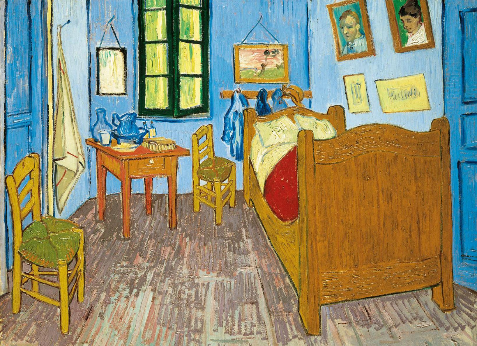Bedroom in Arles Fine Art Jigsaw Puzzle
