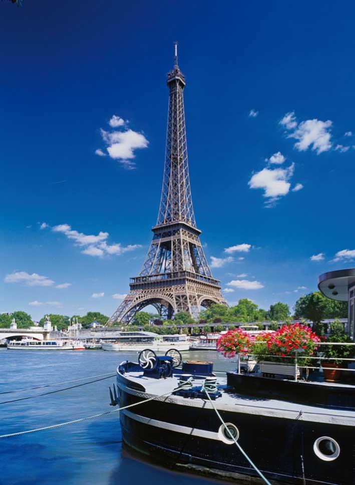 Paris France Jigsaw Puzzle