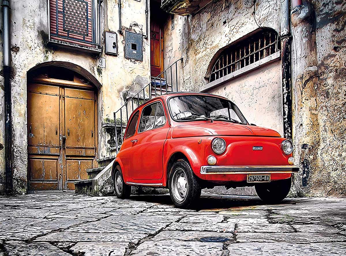 Fiat 500 Cars Jigsaw Puzzle