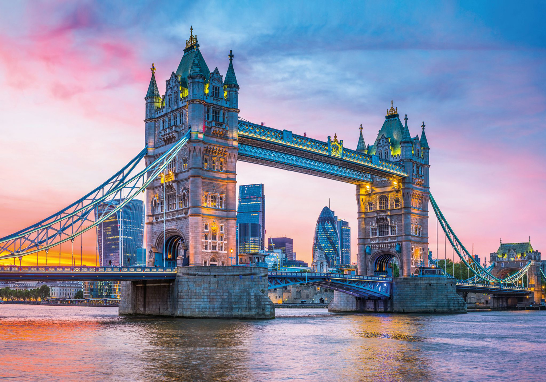 Tower Bridge at Sunset London Jigsaw Puzzle