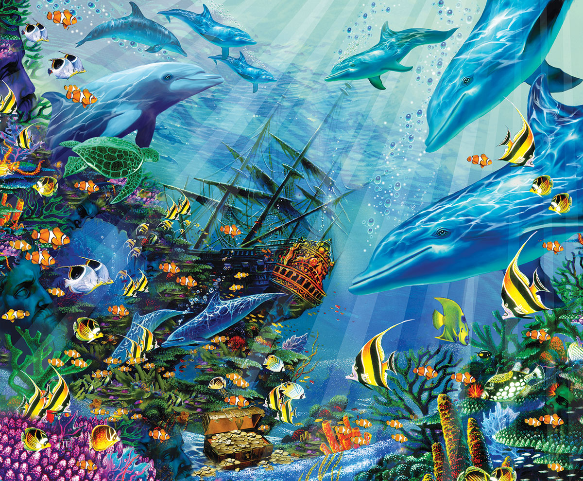 Return to Treasure Island Under The Sea Jigsaw Puzzle