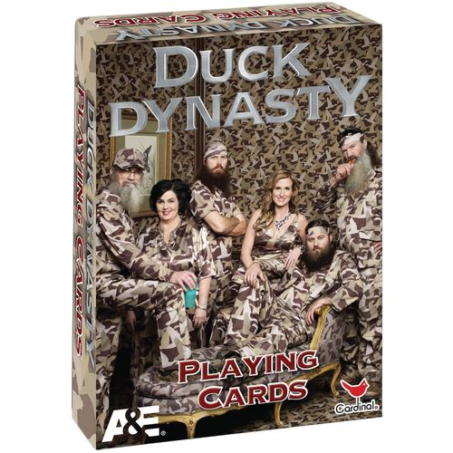 Duck Dynasty Camo Playing Cards Famous People Playing Cards