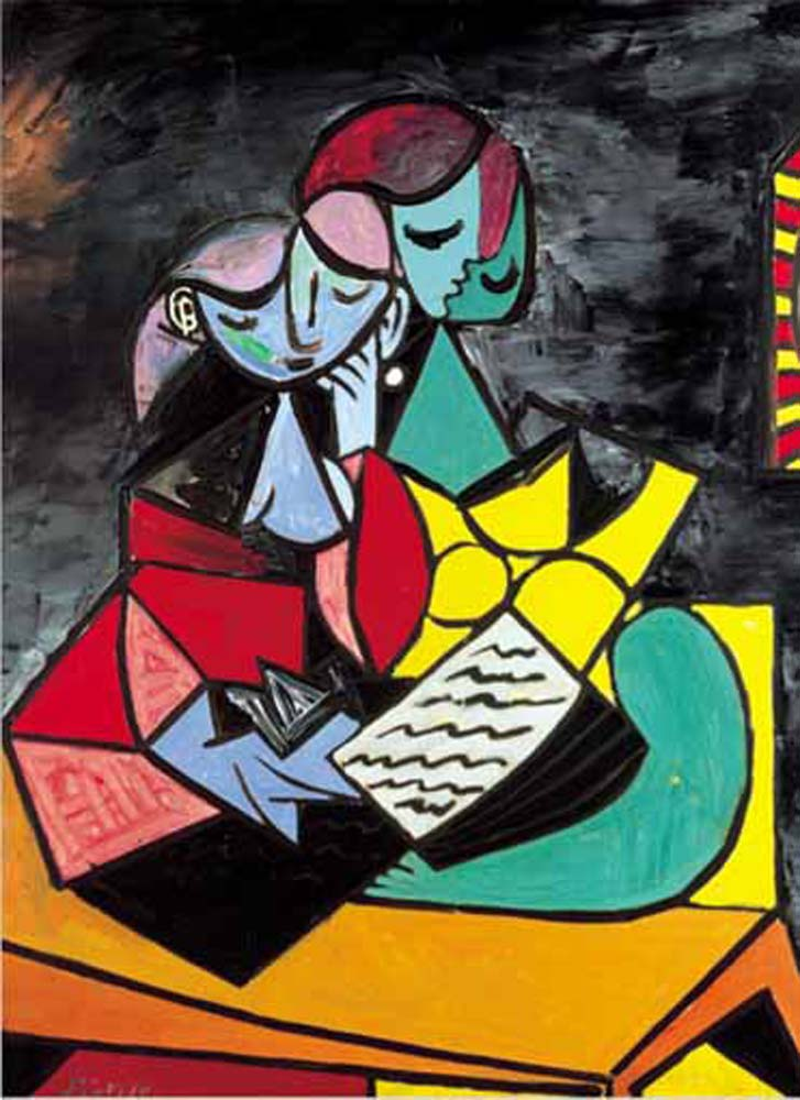 La lecture, 1934, Picasso Abstract Jigsaw Puzzle
