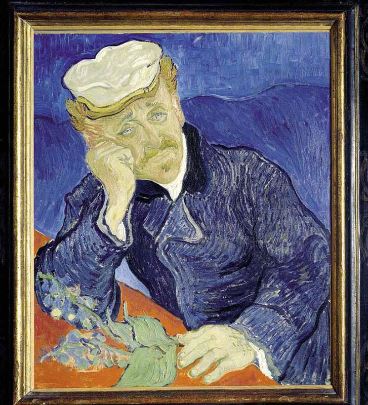 Ritratto Dott Gachet, Van Gogh Impressionism Jigsaw Puzzle