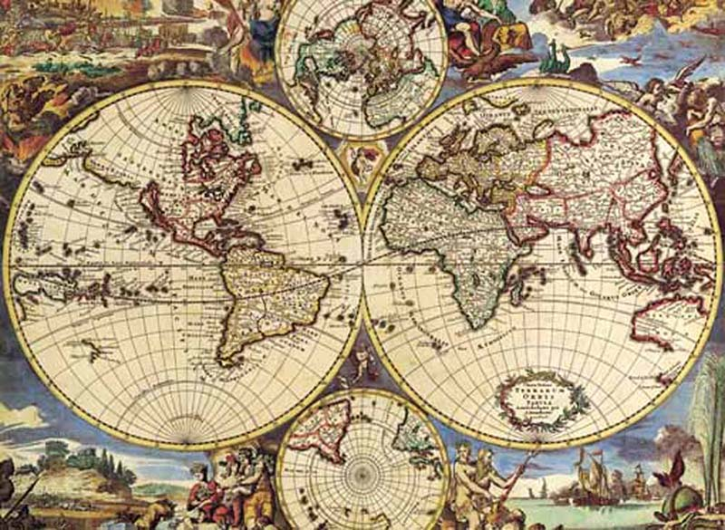 Map of the world jigsaw puzzle puzzlewarehouse map of the world maps geography jigsaw puzzle gumiabroncs Gallery