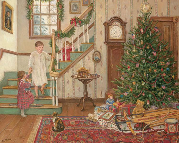 An Olde Fashioned Christmas Christmas Jigsaw Puzzle