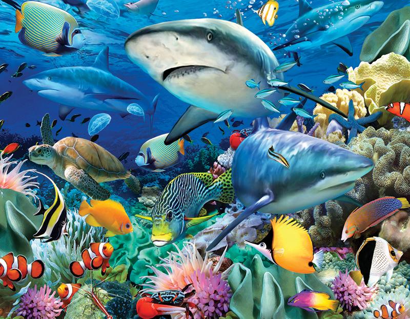 ocean garden under the sea jigsaw puzzle - Ocean Garden