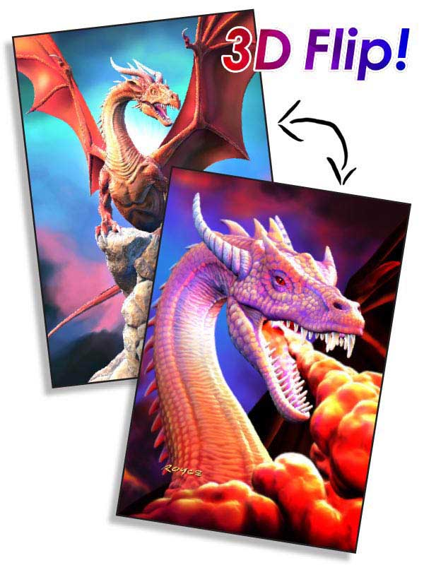 Dragons Dragons Jigsaw Puzzle