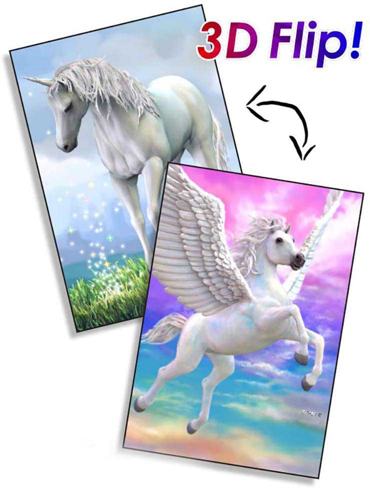Pegasus and Unicorn Fantasy Jigsaw Puzzle