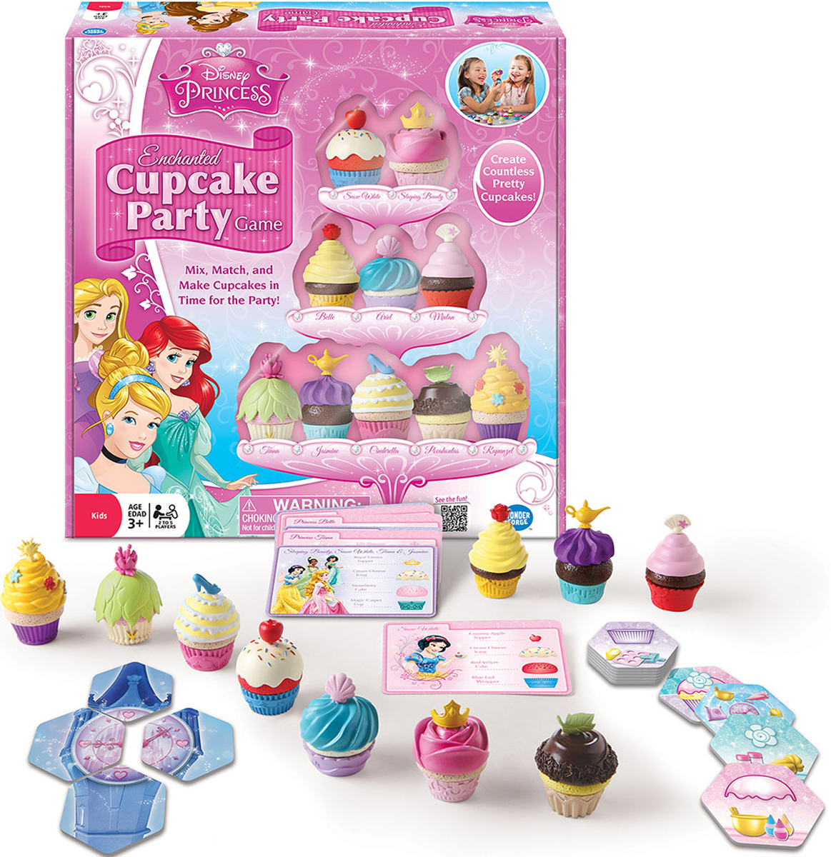 Disney Princess Enchanted Cupcake Party™ Game