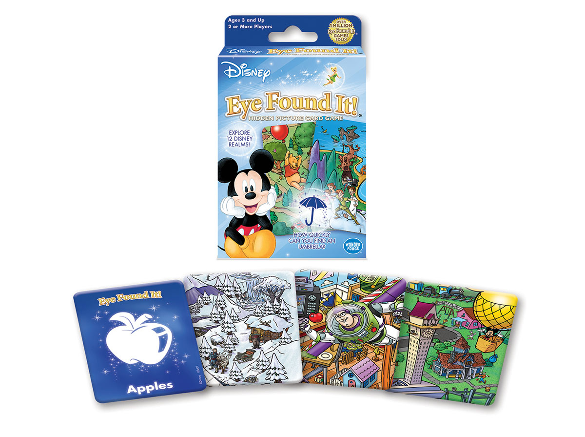 Disney Eye Found It!® Card Game?