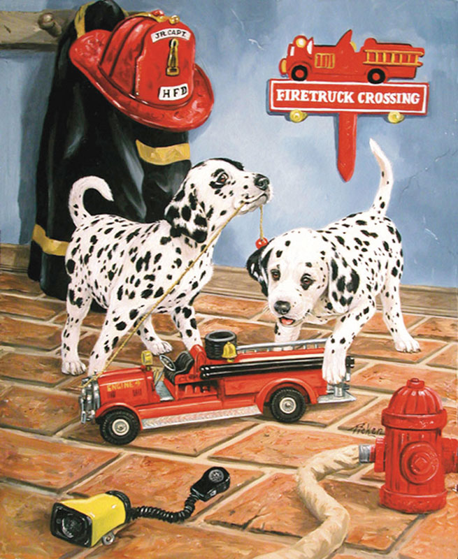 All Fired Up Dogs Children's Puzzles