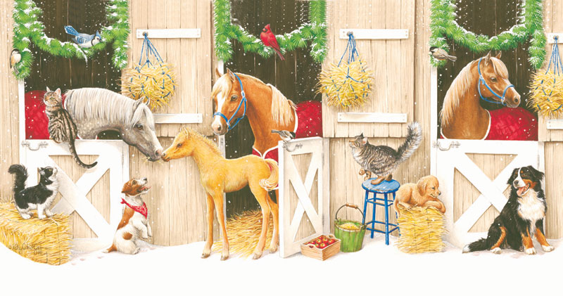 Friends and Neighbors Christmas Jigsaw Puzzle