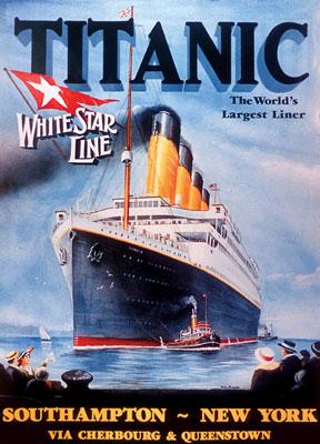Titanic White Star Line Boats Jigsaw Puzzle