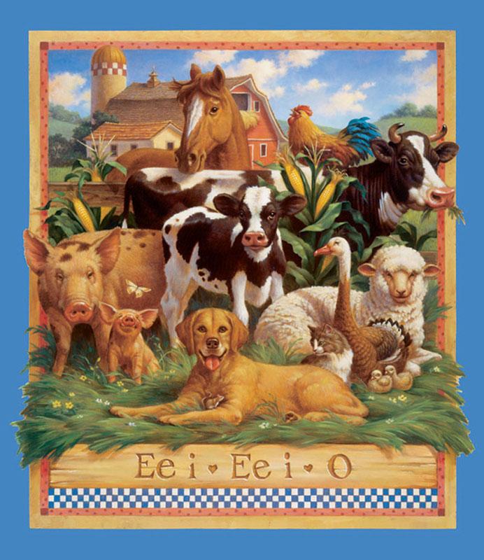Ee i Ee i O Farm Animals Jigsaw Puzzle