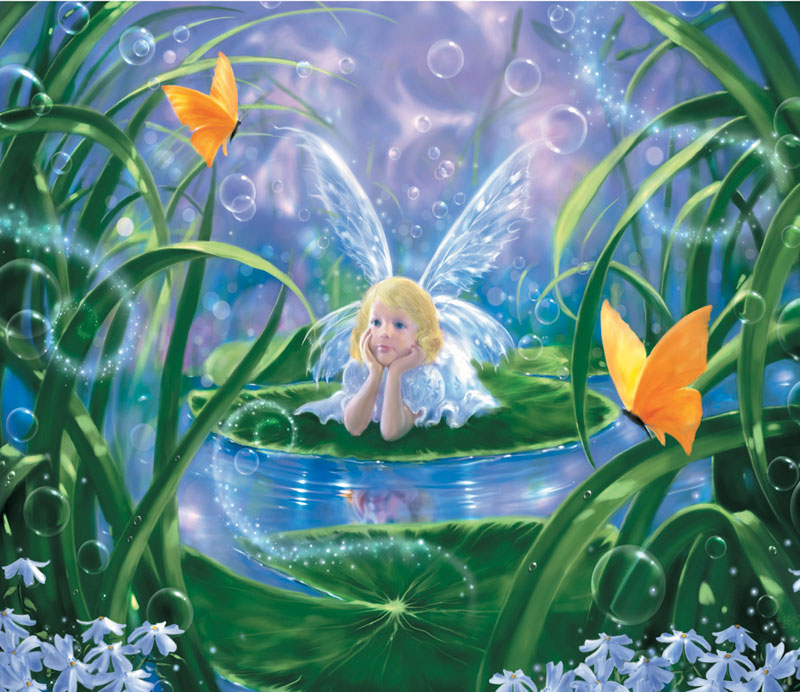 Lily Fairy Jigsaw Puzzle Puzzlewarehouse Com