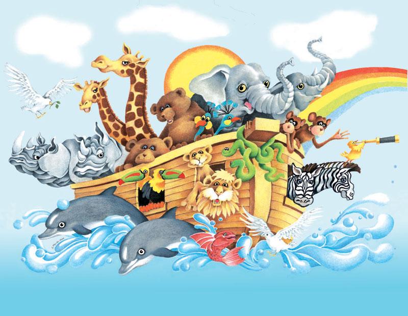 Noah & the Ark Animals Jigsaw Puzzle