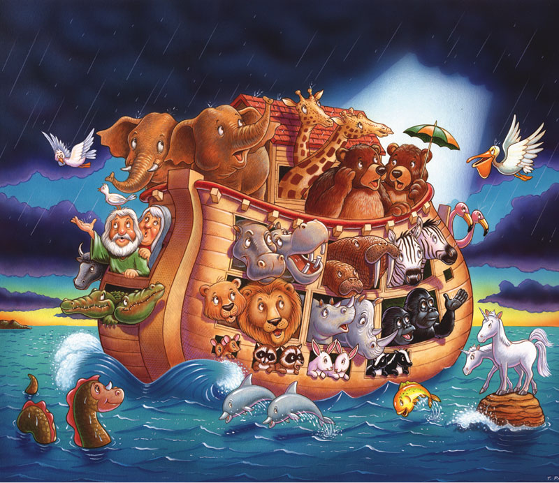 The Ark Map Other Animals Jigsaw Puzzle