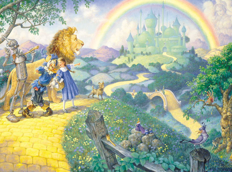 Journey to Oz Famous People Children's Puzzles