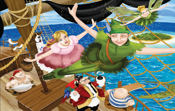 Peter Pan Movies / Books / TV Children's Puzzles