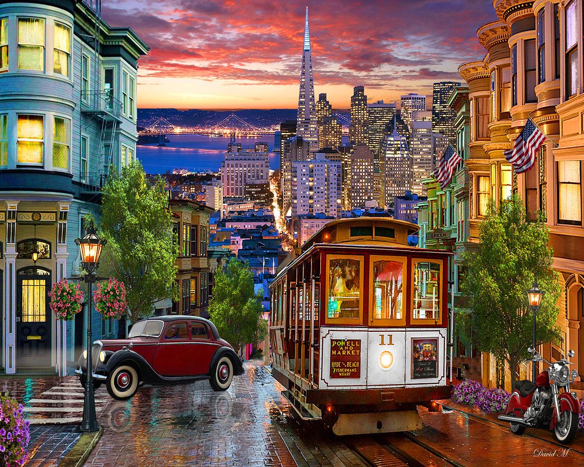 San Francisco Trolley San Francisco Jigsaw Puzzle