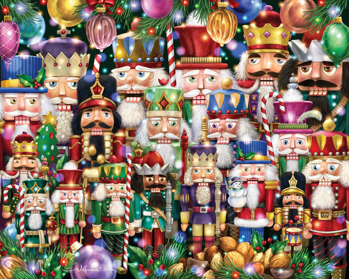 Nutcrackers Suite Christmas Jigsaw Puzzle