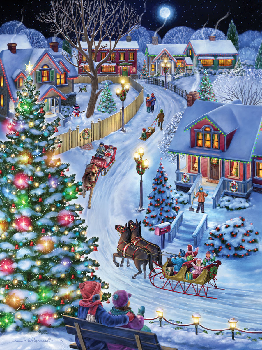 Jingle All the Way Christmas Jigsaw Puzzle