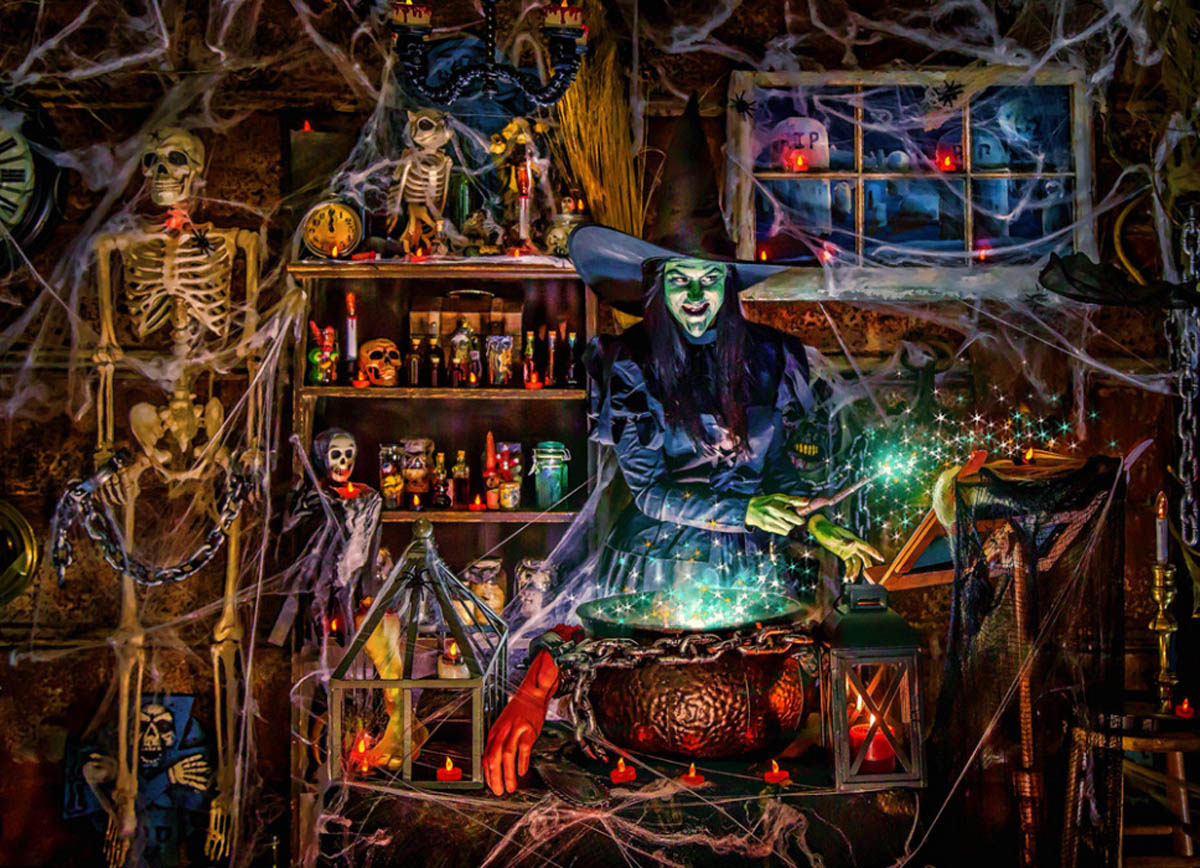 Witches Brew Halloween Jigsaw Puzzle
