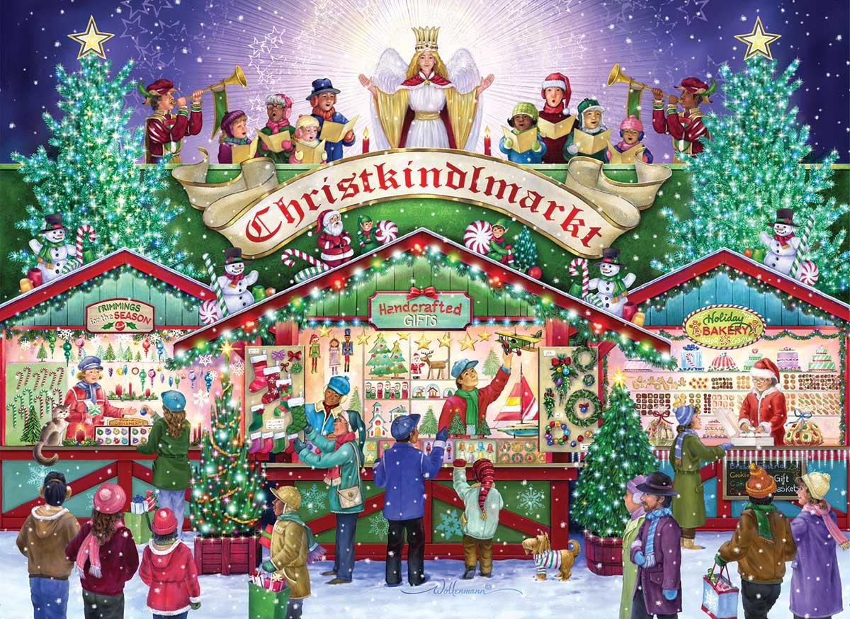 Christkindlemarkt Christmas Jigsaw Puzzle