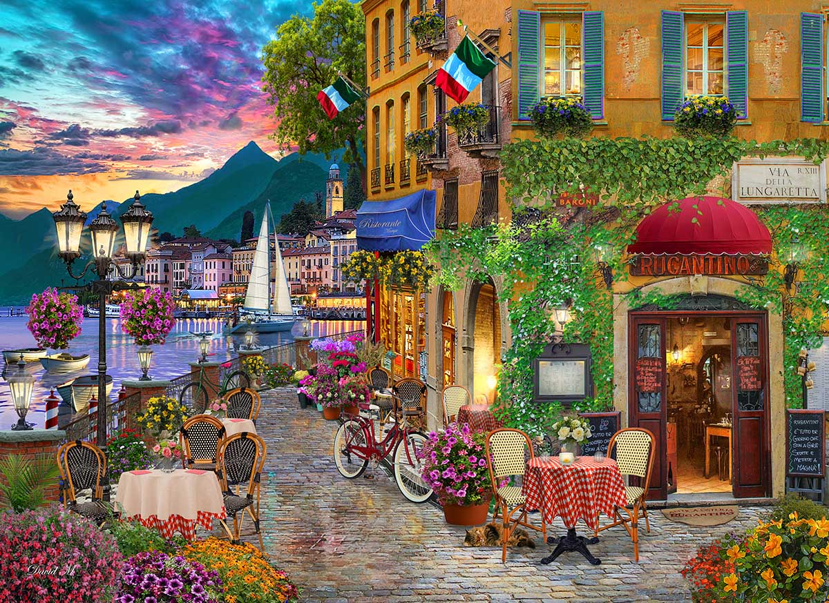 Irresistible Italy Italy Jigsaw Puzzle