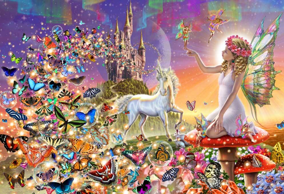 Fairyland Fairies Jigsaw Puzzle