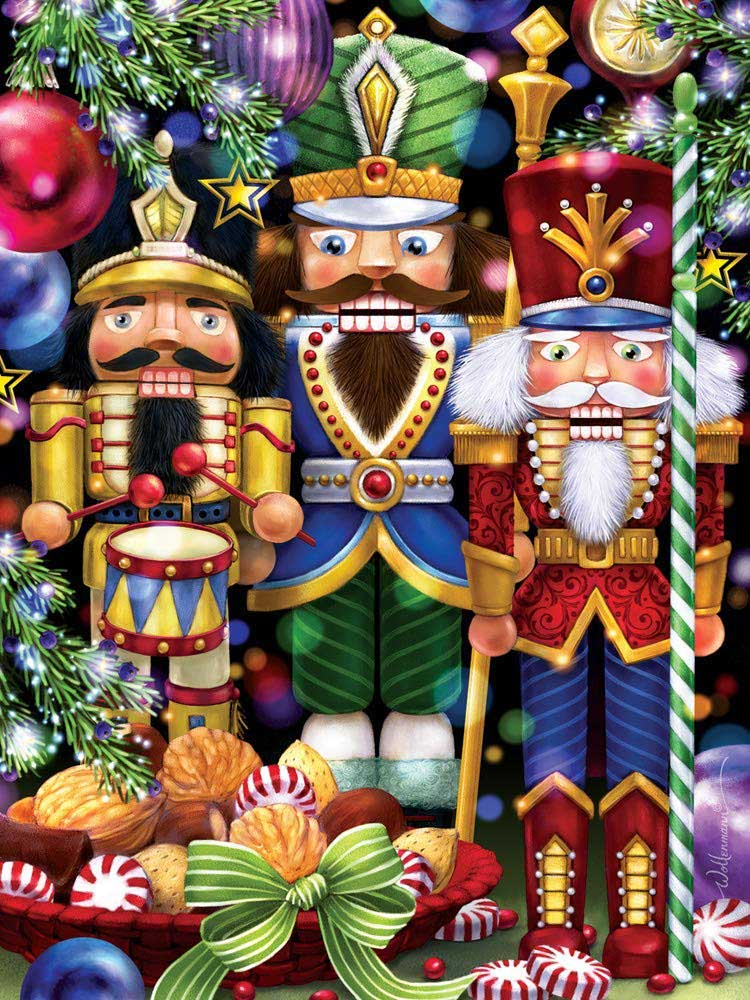The Three Nutcrackers Christmas Jigsaw Puzzle