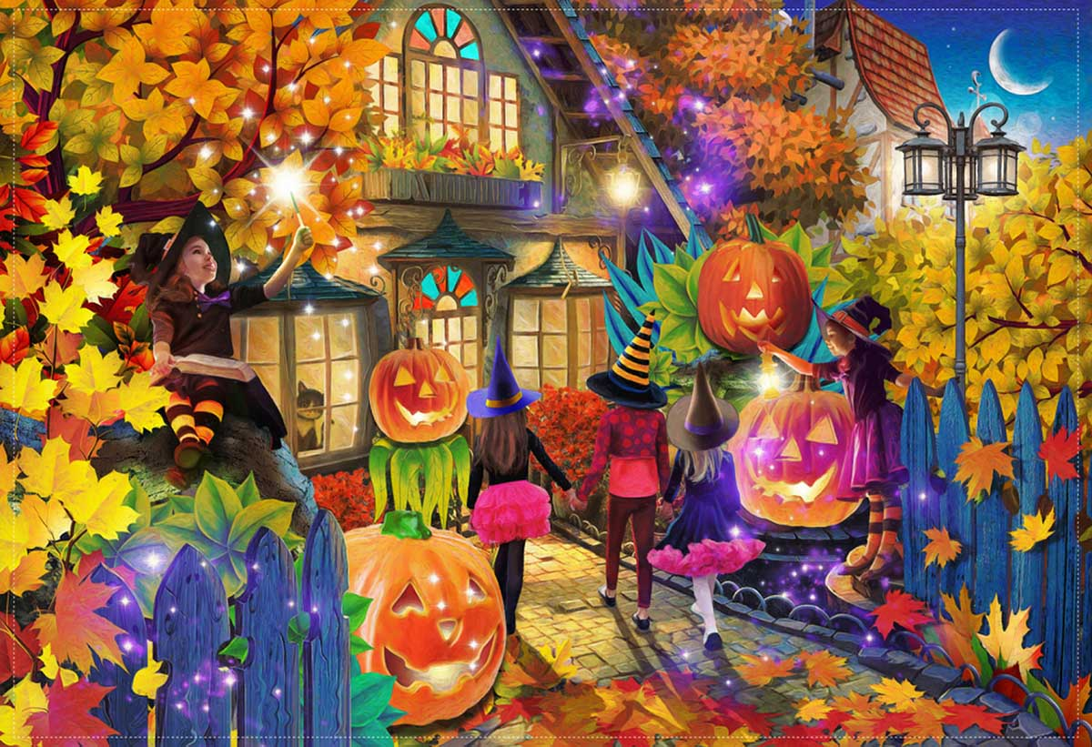 Witching Hour - Scratch and Dent Fall Jigsaw Puzzle