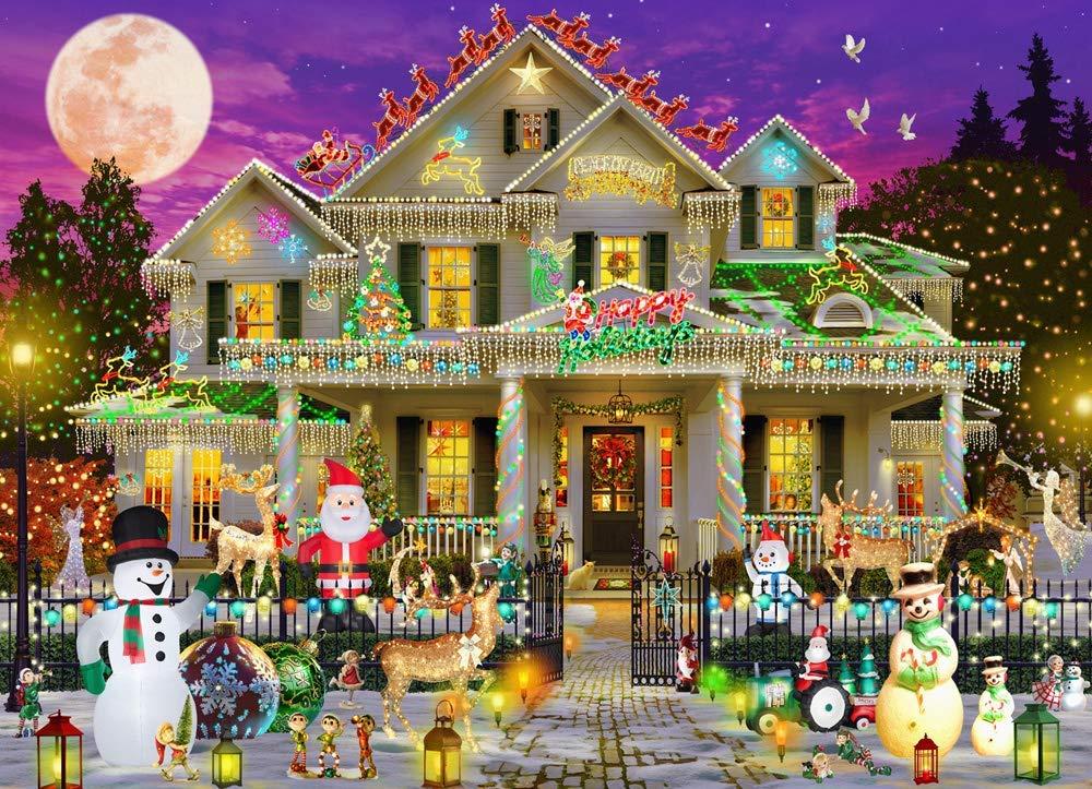 Happy Holidays Christmas Jigsaw Puzzle