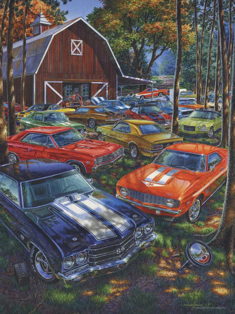 Room for One More? Countryside Jigsaw Puzzle