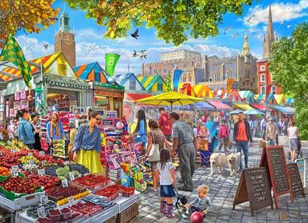 Summer Market Summer Jigsaw Puzzle