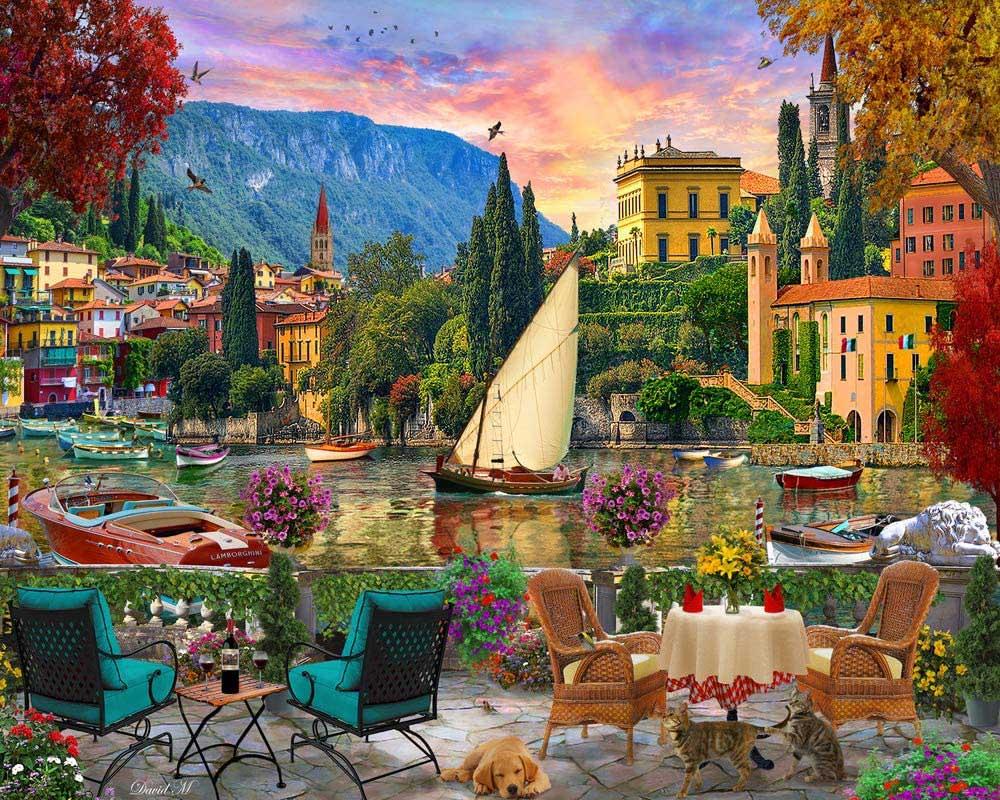 Al Fresco Italy Travel Jigsaw Puzzle
