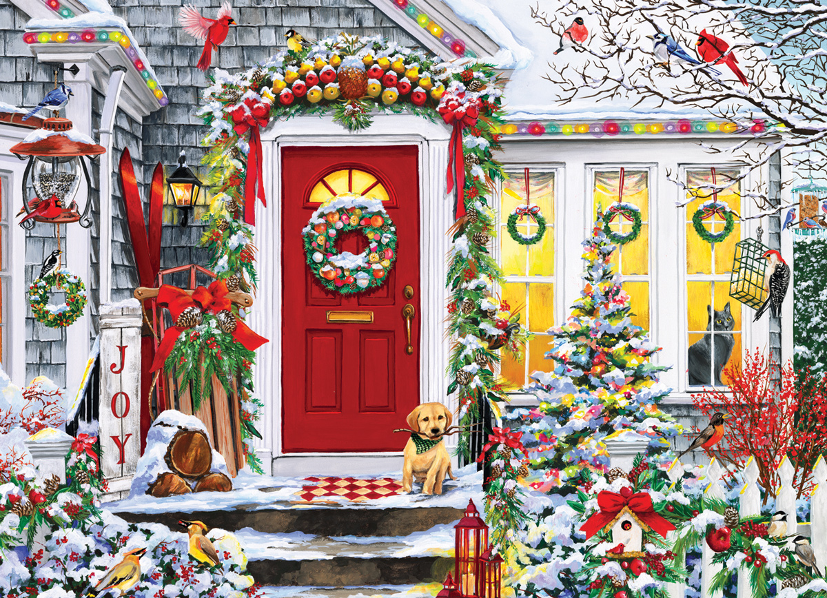 Winter Welcome  Landscape Jigsaw Puzzle