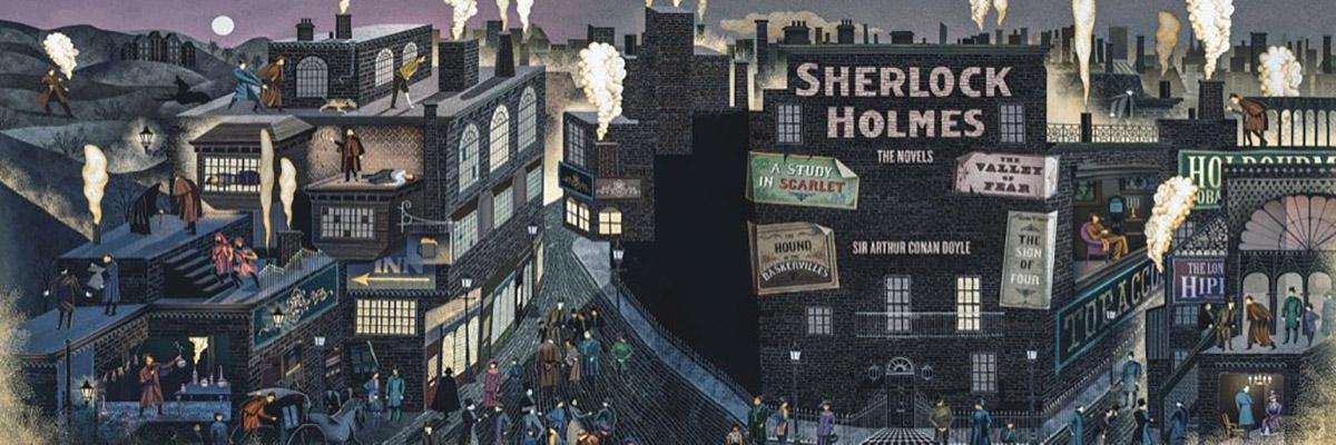 Sherlock Holmes Movies / Books / TV Jigsaw Puzzle