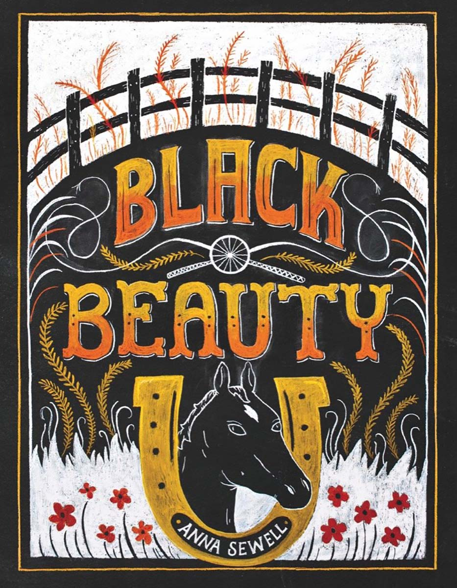 Black Beauty Horses Jigsaw Puzzle