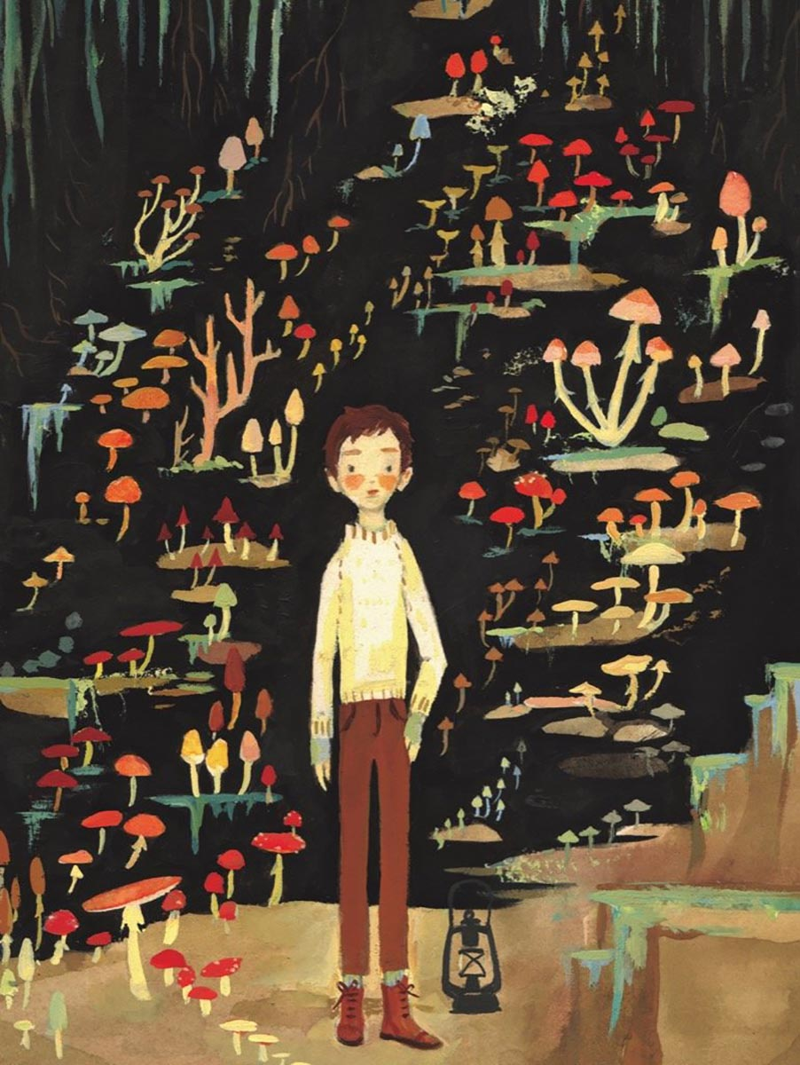 Mushroom Boy Graphics / Illustration Jigsaw Puzzle