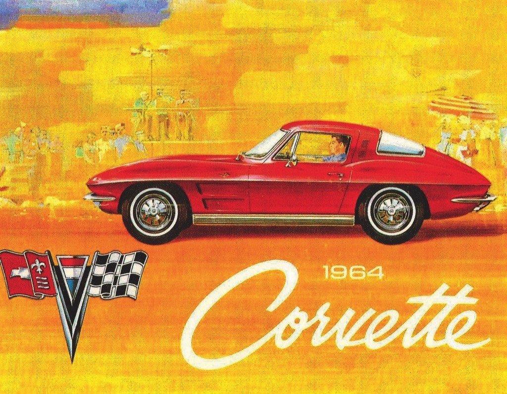 1964 Corvette (Mini) Carnival Jigsaw Puzzle