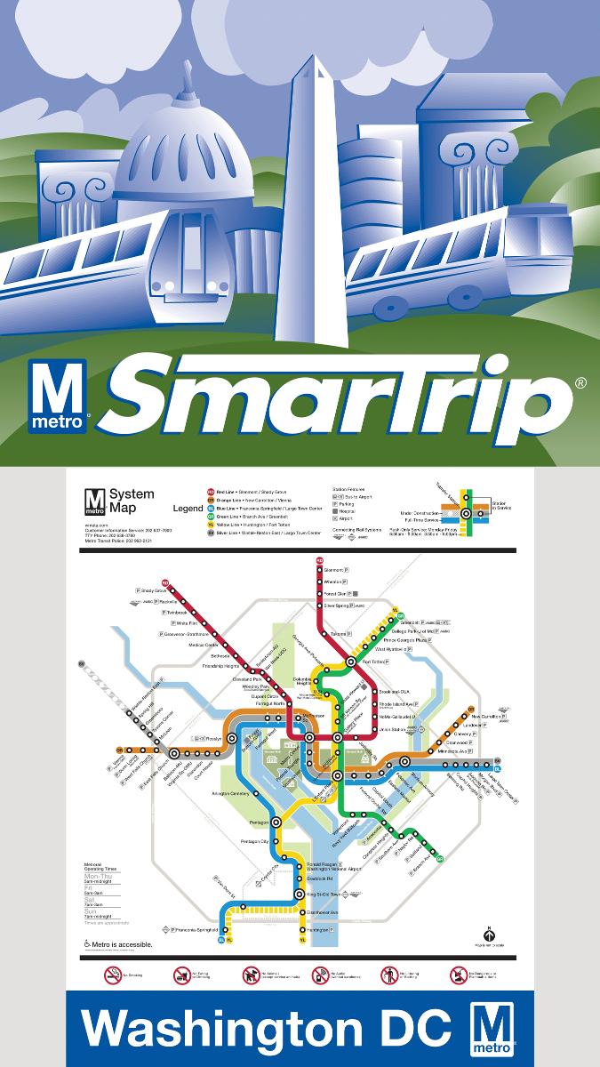 Washington D.C. (Mini) Maps / Geography Jigsaw Puzzle