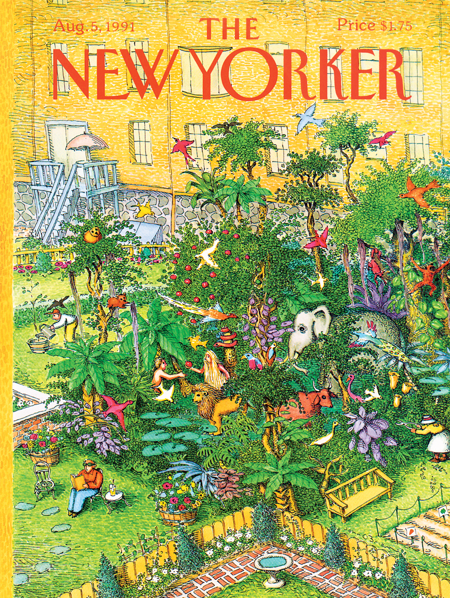 Concrete Jungle The New Yorker Jigsaw Puzzle