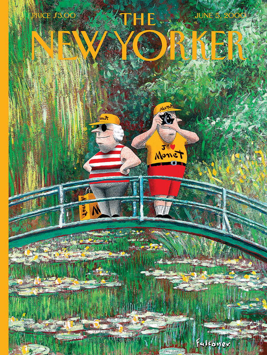J'adore Monet (The New Yorker) Flowers Jigsaw Puzzle