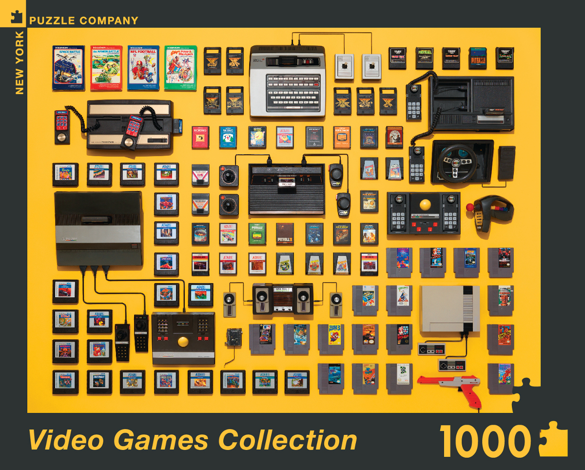 Video Games Collection Video Game Jigsaw Puzzle